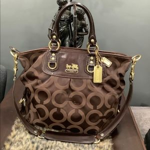 COACH LARGE MADISON JULIANNE BAG